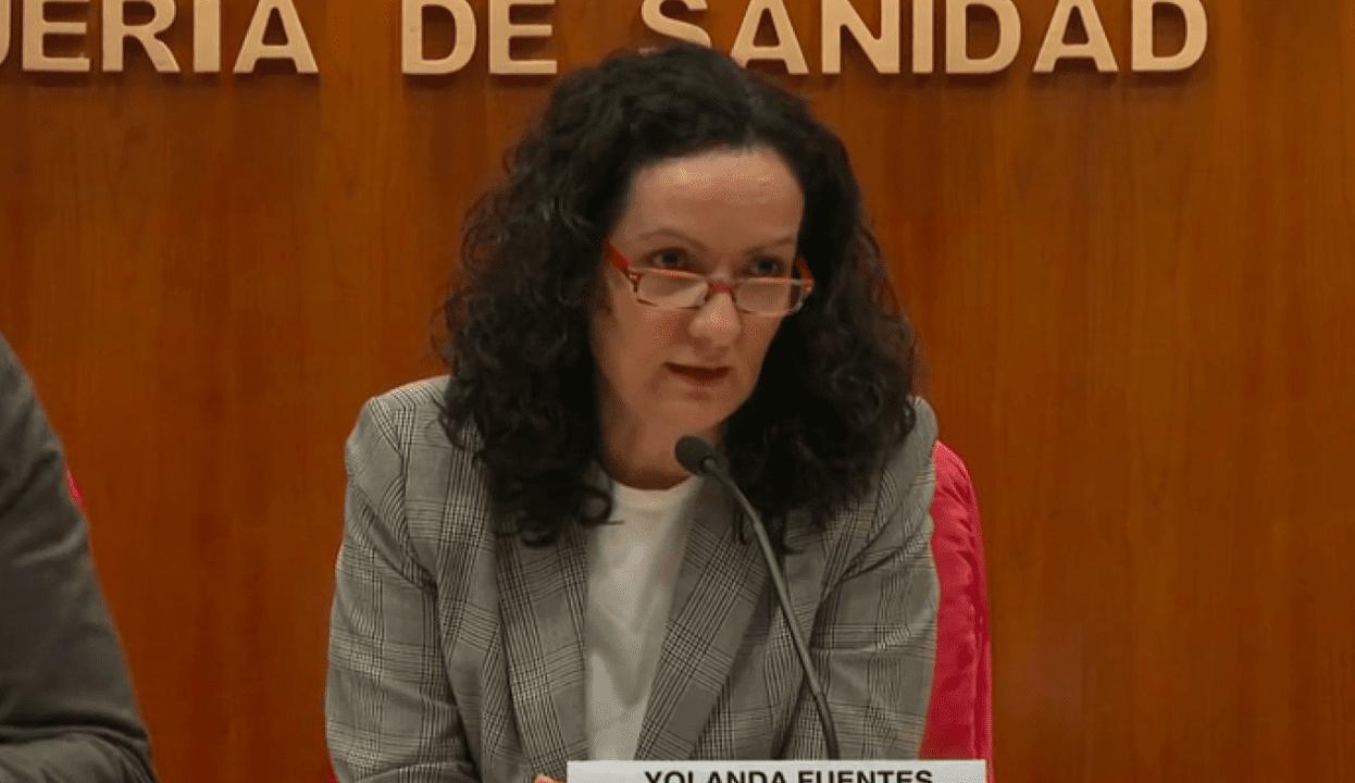 La directora general de Salud Pública de Madrid, Yolanda Fuentes