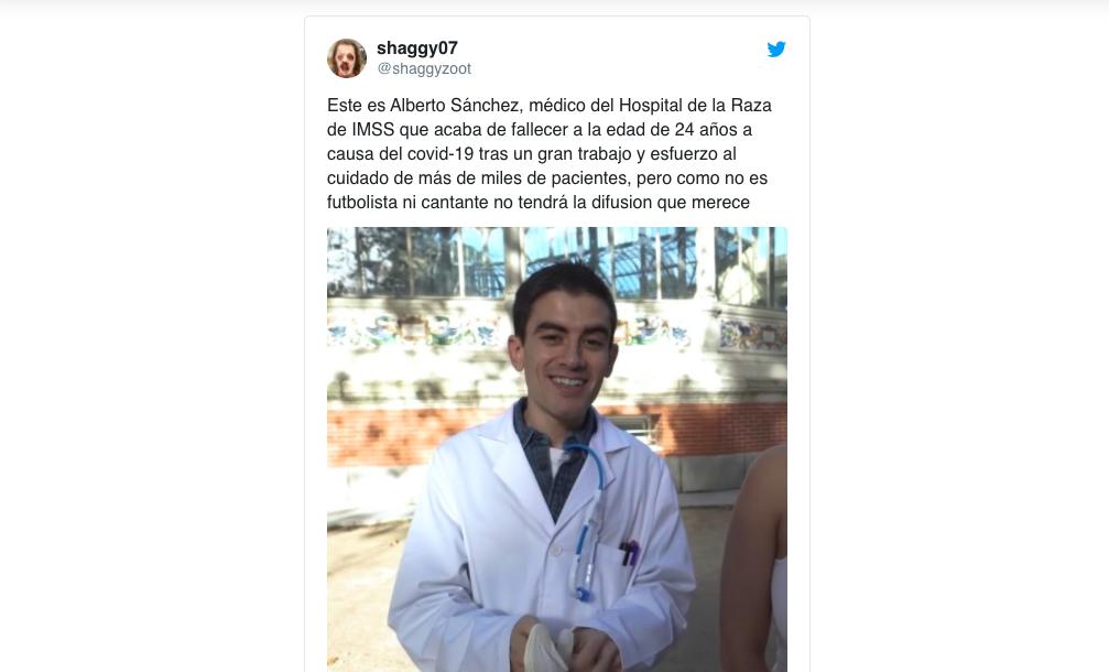 Una diputada del PP da el pésame por la muerte de un médico que no existe