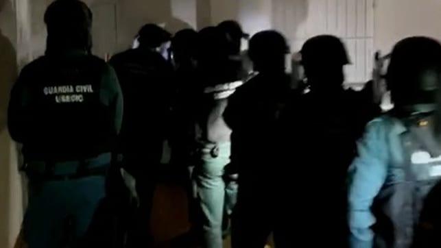 Detención de grupo neonazi. Fuente: Guardia Civil.