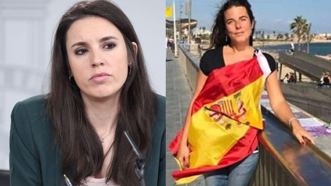 Irene Montero y Cristina Gómez Carvajal.