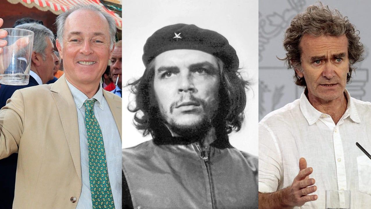 José Manuel Soto, Che Guevara y Fernando Simón.