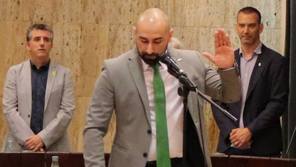 Sergio Concepción, concejal de VOX