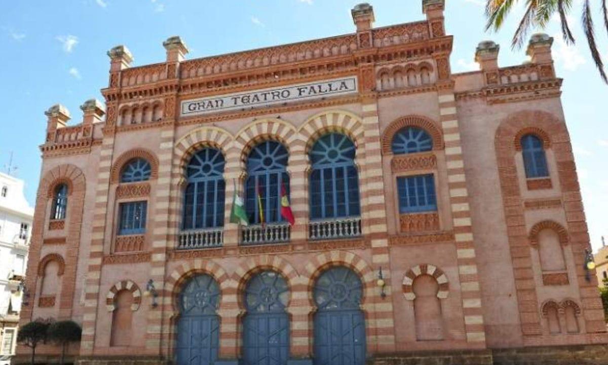 Teatro Falla, lugar de celebración del concurso del Carnaval de Cádiz