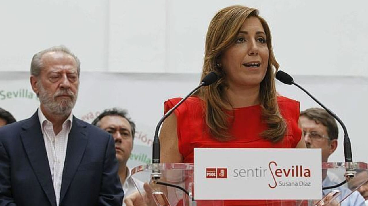 Fernando Rodríguez Villalobos y Susana Díaz