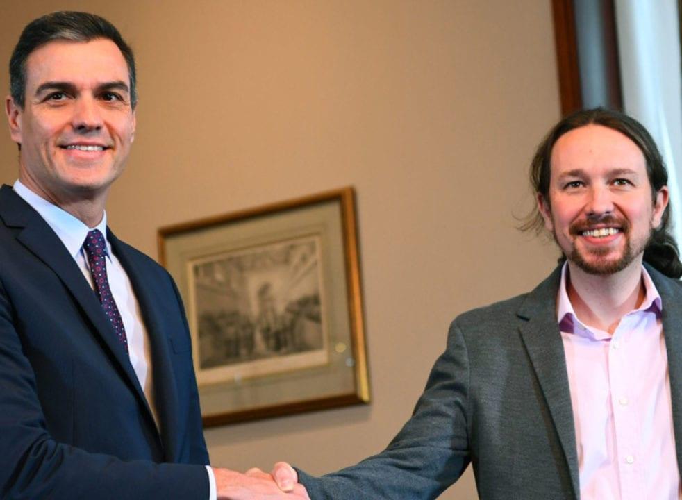 Pedro Sánchez y Pablo Iglesias difieren sobre cómo legalizar el cannabis