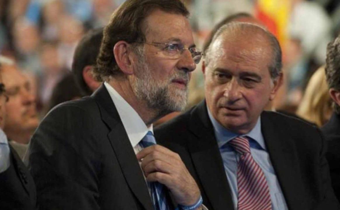 Jorge Fernández Díaz y Mariano Rajoy