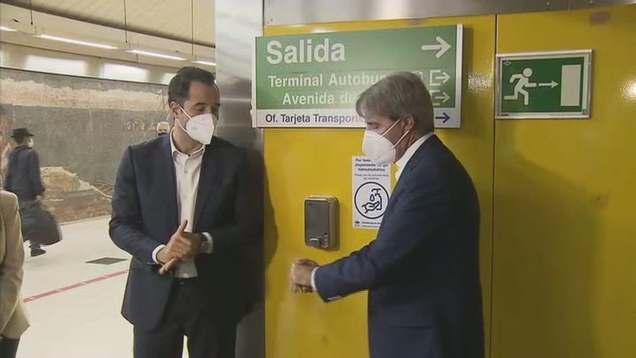 Ignacio Aguado y Ángel Garrido luchando contra la pandemia.