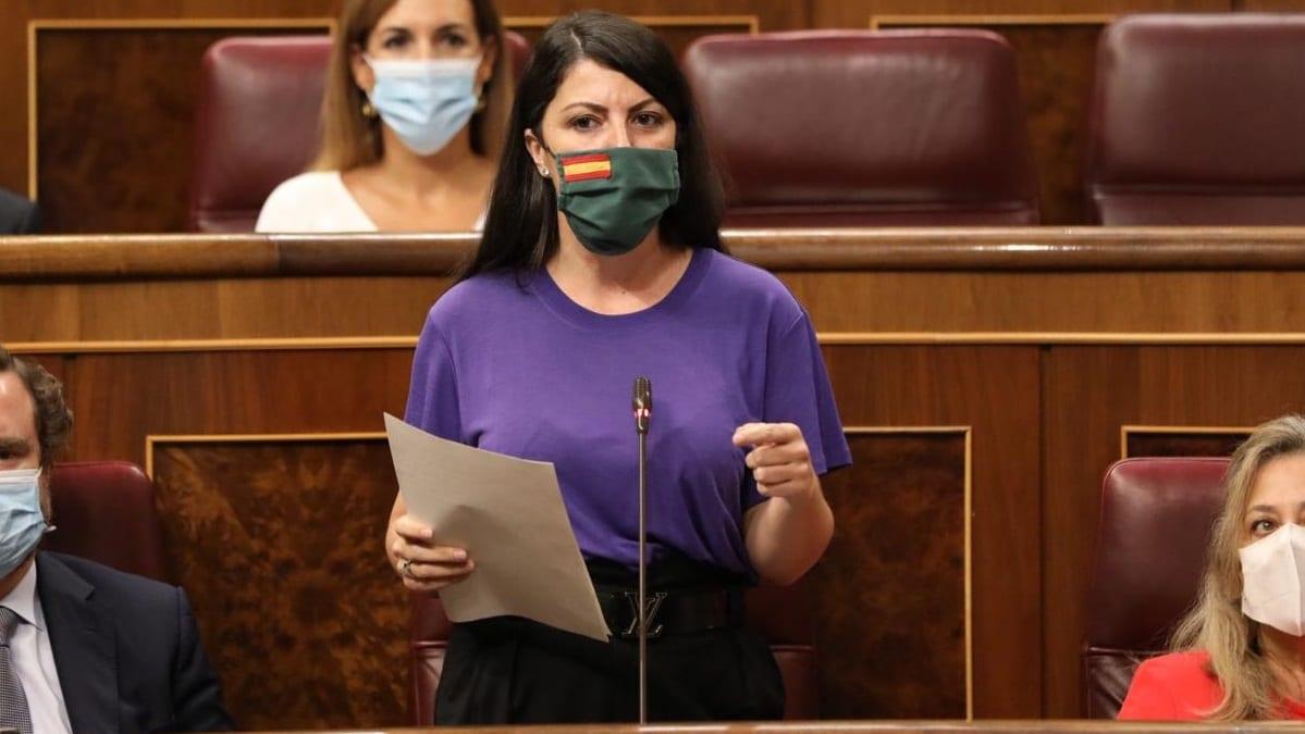 Macarena Olona, dirigente de VOX.