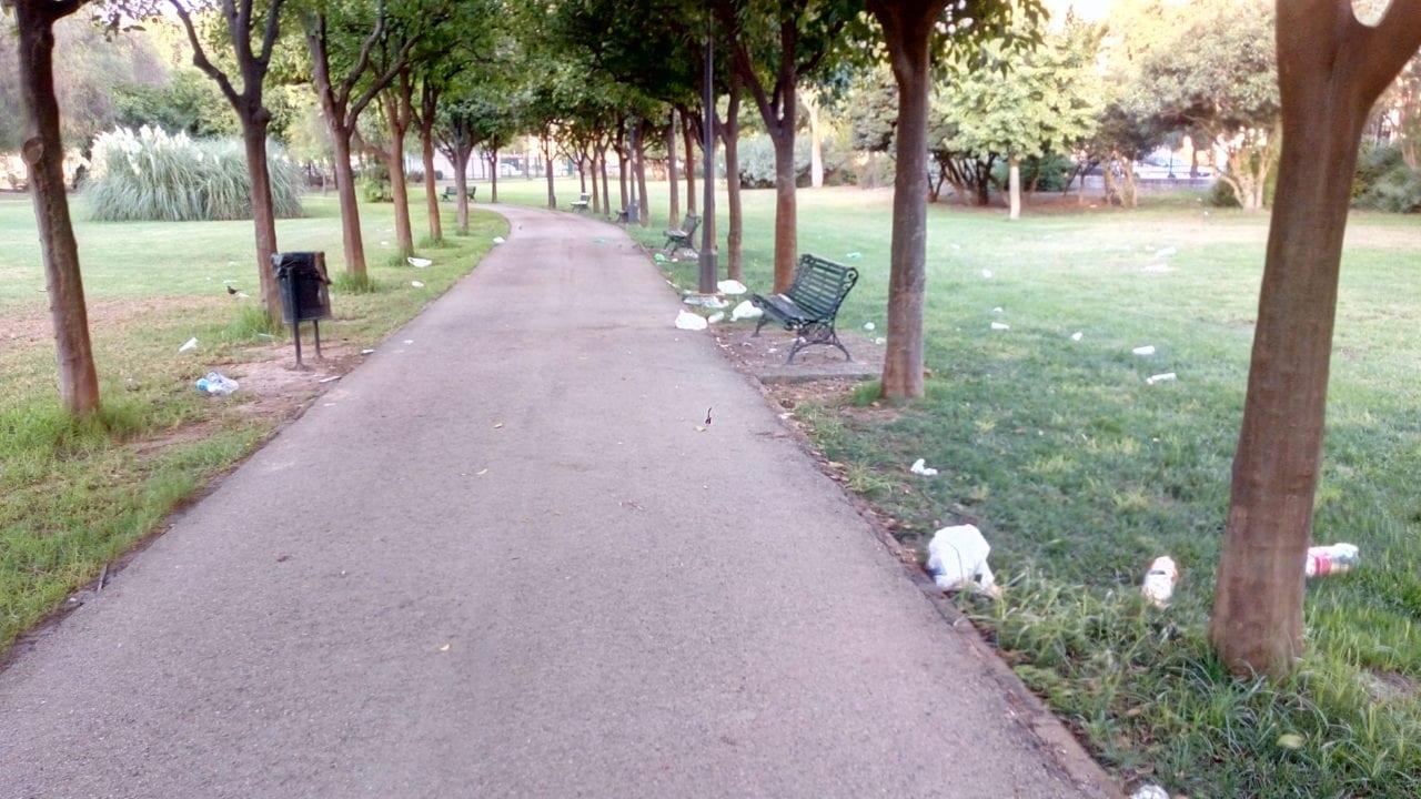 Parque de los Príncipes de Sevilla.
