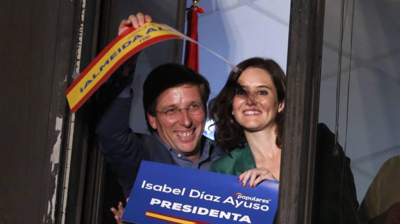 El alcalde y la presidenta de la Comunidad de Madrid