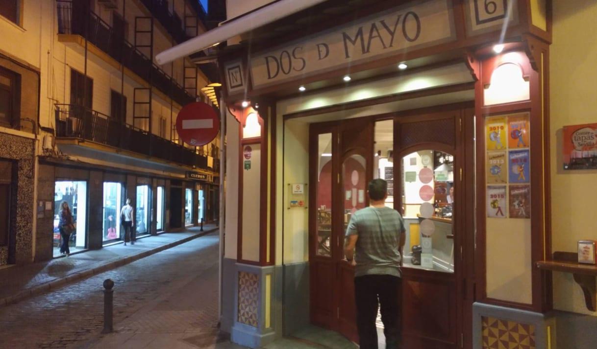 Un bar en el centro de Sevilla