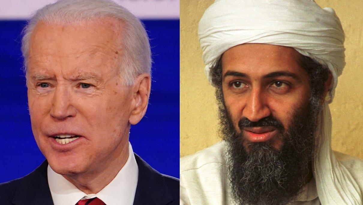 Joe Biden y Bin Laden