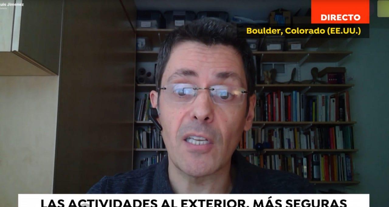 José Luis Jiménez, uno de los expertos que firma el estudio