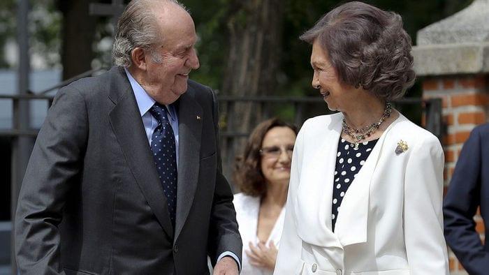 Juan Carlos y Sofia.