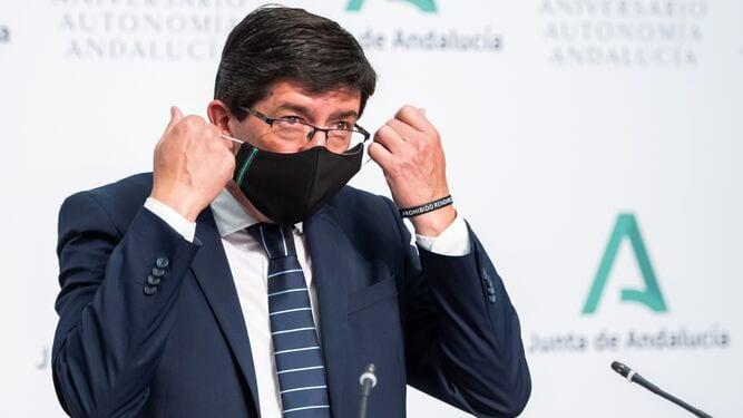 Juan Marín vicepresidente Junta de Andalucía.