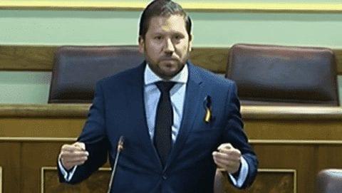 Carlos Hugo Fernández-Roca, exdiputado de VOX.