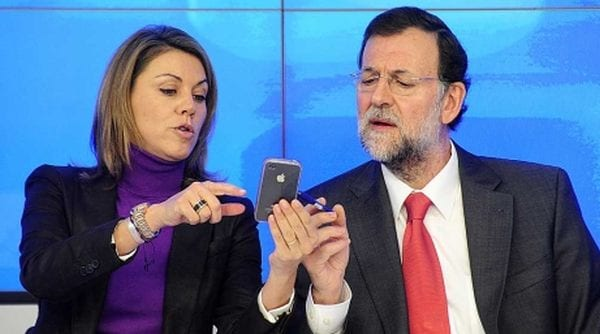 Cospedal y M. Rajoy.
