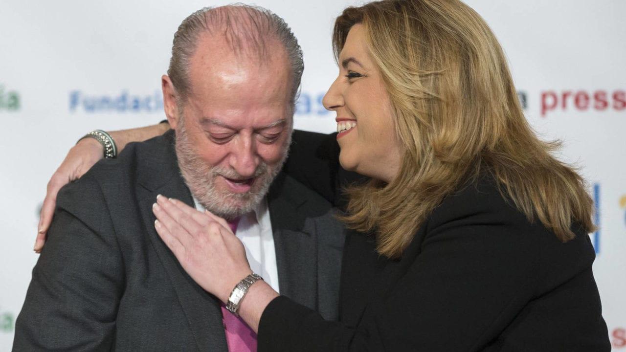 Fernando Rodríguez Villalobos y Susana Díaz.