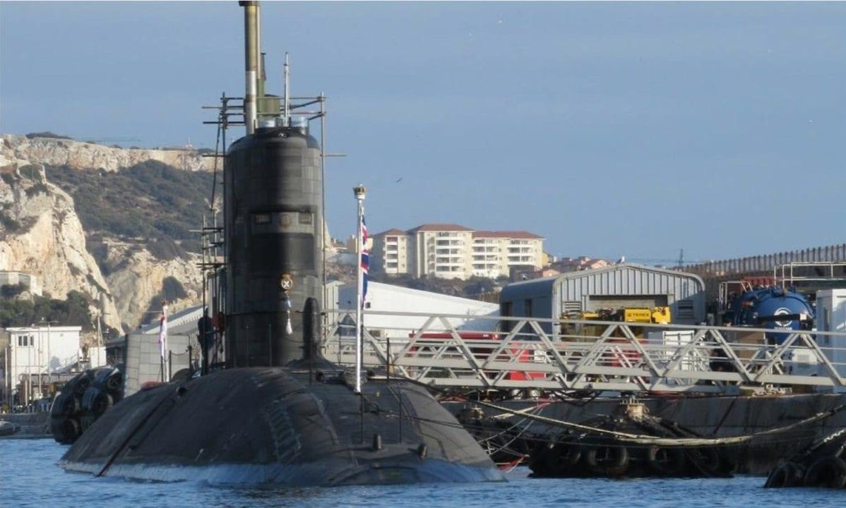 HMS Talent en una