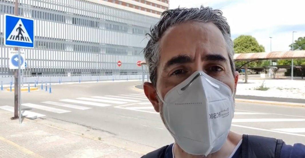 Doctor Nacho Vallejo. Fuente: Twitter.