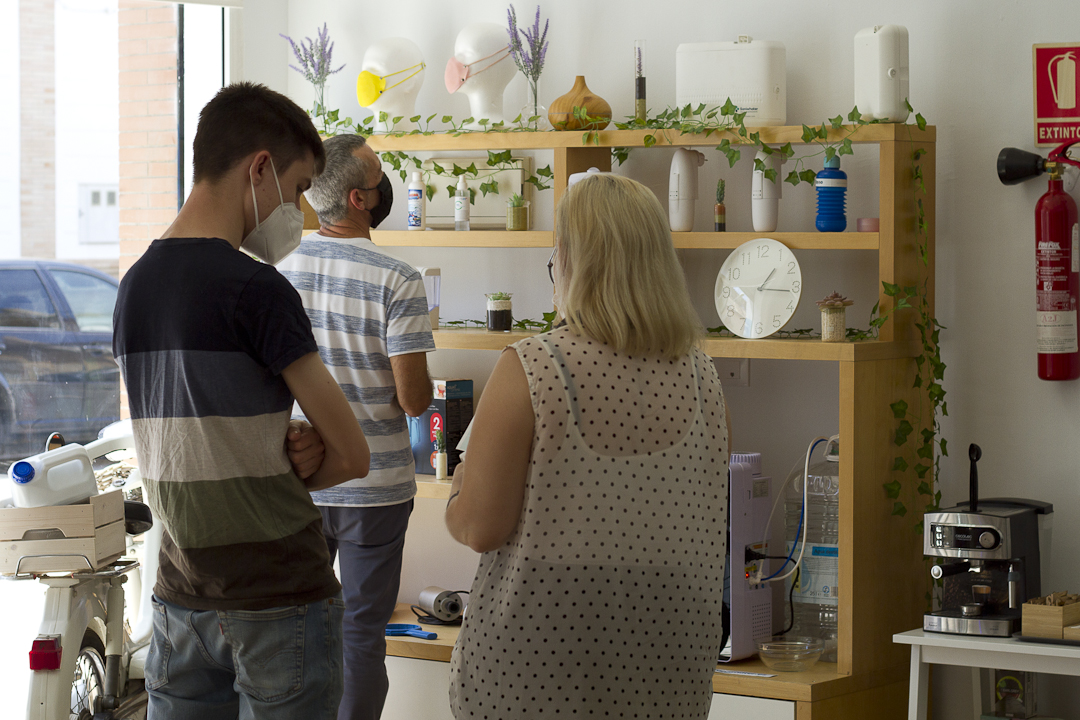 La start-up Whater inaugura su nueva sede en La Rinconada