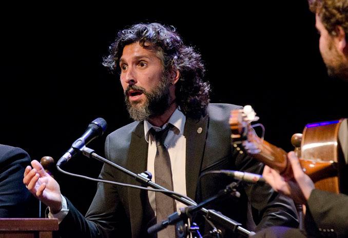 El cantaor Arcángel actuará en Utrera este verano.