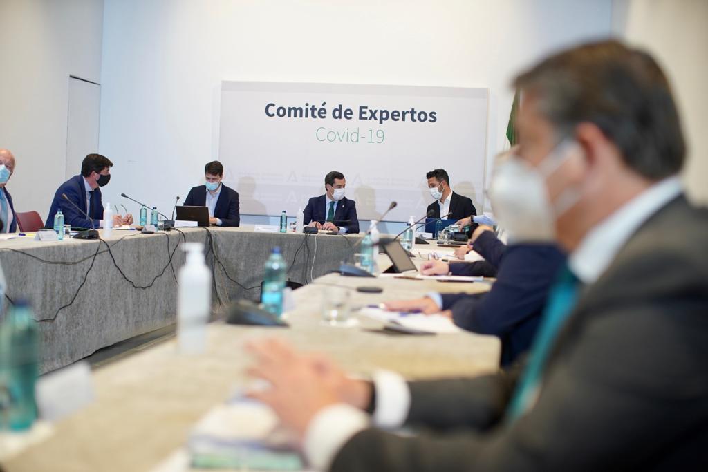 Comité de Expertos de Andalucía.