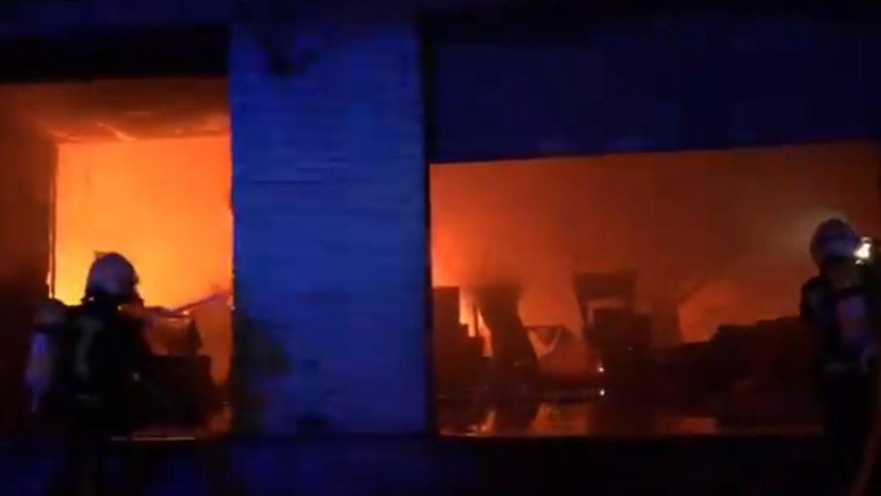 Captura del vídeo con la intervención de los Bomberos de Córdoba -Digital Sevilla.