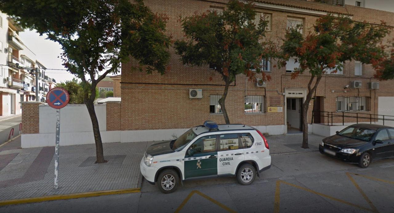 Cuartel de la Guardia Civil en Los Palacios.