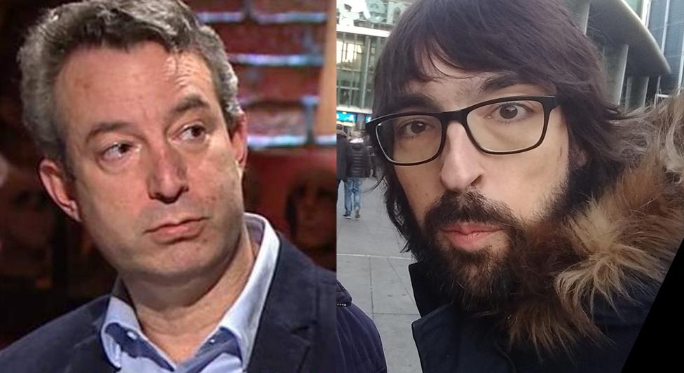 César Carballo y Quique Peinado.
