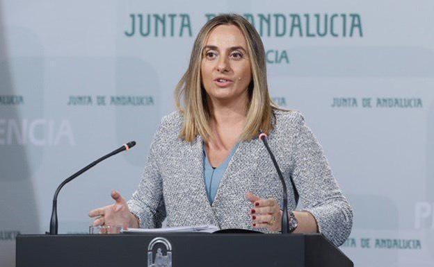 Marifran Carazo, consejera de Fomento de la Junta de Andalucía.